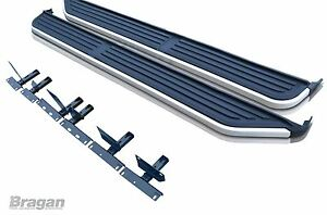 To Fit 2005+ Land Rover Discovery 3/4 Aluminium Running Boards Side Steps Bars