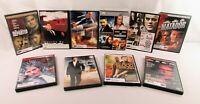 Lot Of 10 Suspense Drama Adventure Movies Various Titles DVD's