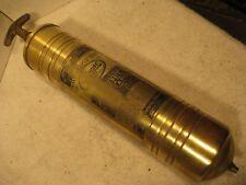 Vintage Pyrene 1 1/2 Qt brass hand pump fire extinguisher