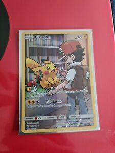 Pikachu 241/236 SM Cosmic Eclipse Secret Rare Full Art Pokemon Card TCG