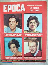 EPOCA 1960 Audrey HEPBURN Fausto COPPI