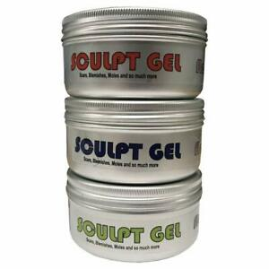 Sculpt Gel Silicone Skin Safe Special FX Molding Gel Kit Parts A - C