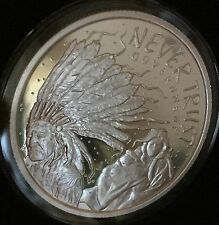 1oz 2014 Never Trust Government Proof Heidi Wastweet Silver Shield 1000 Minted