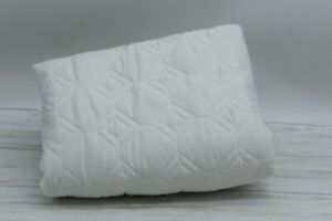 HOTEL COLLECTION Alabaster Quilted STANDARD Pillow Sham Cotton Sateen Ivory $150