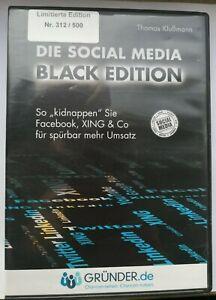 DVD DIE SOCIAL MEDIA BLACK EDITION - Thomas Klußmann - LIMITIERT! - NP 399 €