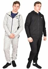 Mens Tracksuits Skechers Fleece Hoodie Sweatshirt Top Bottom Joggers Gym Trouser