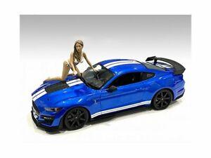 BIKINI CAR WASH GIRL - JENNY 1/18 scale Figure AMERICAN DIORAMA 76263