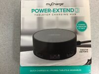Charger Hub - myCharge Power-Extend 3 Tabletop NEW