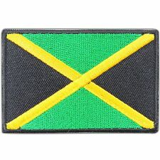 Jamaica Nation Flag Rasta Reggae Hippie Bob Marley Caribbean Iron-On Patch #0809