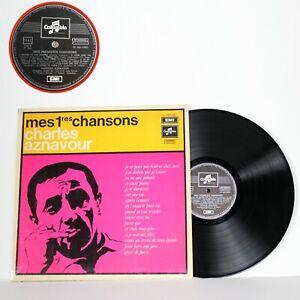 Disco in vinile 33 giri lp di Charles Aznavour 1970 canzoni francesi VINTAGE