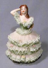 "Irish Dresden Porcelain Katherina 6"" Lady Figurine"