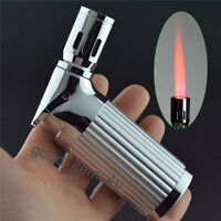 Classic Jobon Metal 4 Nozzles Torch Jet Flame Butane Gas Cigar Cigarette Lighter