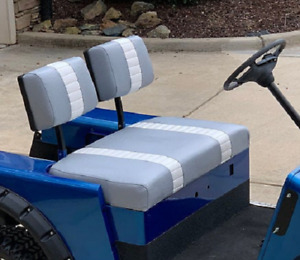 E-Z-GO Marathon 2 Stripe Staple On Golf Cart Seat Cover