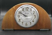 Sessions Self Starting Vintage Wooden Clock Sold AS IS Untested