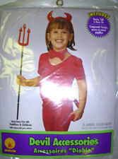 Red Devil Horn Horns Headband Bow Costume Dress-up NWT