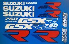Suzuki GSXR750 GSXR750L restauración DECAL set