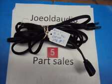 USED Belden Movie Projector Line Cord, 15 Feet Long. 120 Vac, 15 Amps. Tested.