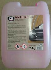 K2 | Long Life Ready To Use Car Antifreeze & Coolant, Radiator | -35°C 20L Red