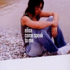 Elisa Come speak to me (2002) [Maxi-CD]