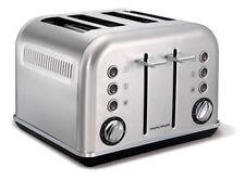 Morphy Richards 242026EE Accents Gebürstet Toaster Edelstahl