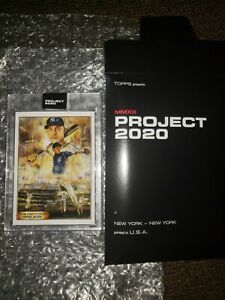 Topps Project 2020 Card #82 Derek Jeter 1993 by Andrew Thiele  SP 20974