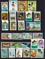 GRENADA...COLLECTION...28 STAMPS...MINT HINGED