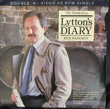 "THEME FROM LYTTON'S DIARY / DATABASE RICK WAKEMAN WAKE2 7"" VINYL RECORD"