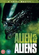 ALIEN & ALIENS         BRAND NEW SEALED GENUINE UK DVD