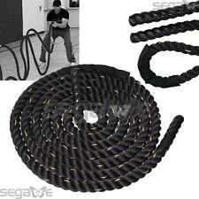 "1.5"" 40ft Poly Dacron Battle Rope Exercise Workout Strength Training Undulation"