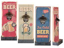 Wandflaschenöffner Flaschenöffner Kapselheber Öffner Bieröffner Bier Bar BEER