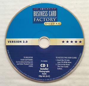 Nova Development Business Card Factory Deluxe - PC