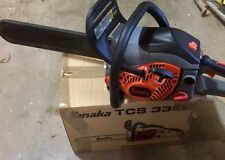 "Tanaka TCS33EB 14"". 32.2cc Rear Handle Gas Powered Chain Saw TCS33EB/14"