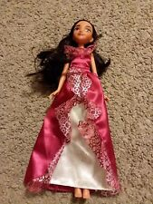 Disney Junior 11 inch Princess Elena of Avalor doll red royal gown dress