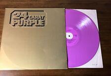 DEEP PURPLE ~ 24 CARAT PURPLE ~ PURPLE COLORED VINYL ALBUM ~ IMPORT FROM HOLLAND