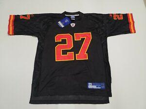 NFL Equipment Reebok Jersey KC Chiefs #27 Larry Johnson Size L Black NWT