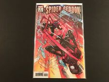 Spider-Geddon #4 1:25 Garron Variant (2018) Nm Marvel Comics 1st Print