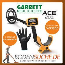 Garrett ACE 200i Metalldetektor - der Nachfolger des ACE 150 incl. Handschuhe