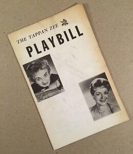 Nyack NY: 1958 TAPPAN ZEE PLAYHOUSE THEATRE PLAYBILL First Season FALLEN ANGELS