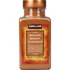 Kirkland Signature Organic Ground Saigon Cinnamon 2 Ct X 10.7 Oz Each