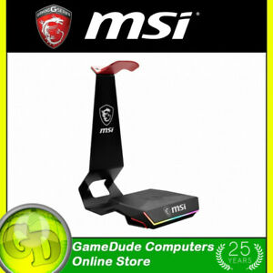 MSI HS01 COMBO Gaming Headset Stand and Wireless QI Charger 15W HS01 COMBO [F36]