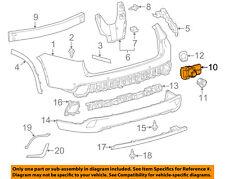 TOYOTA OEM 14-15 Highlander Rear Bumper-Parking Aid Reverse Sensor 893410E010A0