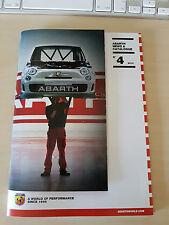 ABARTH NEWS & CATALOGUE - n.4 Anno 2012 - Catalogo in Italiano - RARO