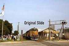 Original Railroad Slide Union Pacific Special Train with 2744 Osage City KS 1996