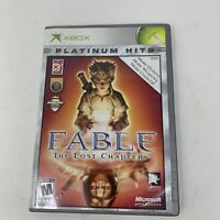 Fable The Lost Chapters Xbox Platinum Hits Game NO MANUAL