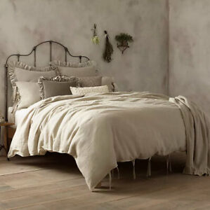 Wamsutta Vintage Washed Linen DUVET COVER King NEW 2 Available