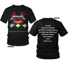 METALLICA T-Shirt Master Of Puppets OFFICIALLY LICENSED w/ Back Print S-3XL