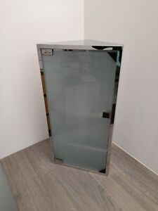 ***SAVINGS*** Space Saving Bathroom Corner Mirror Cabinet Single Door - FAULT