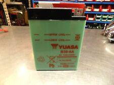 BSA 5T SPEED TWIN 500 47-58 YUASA B386A 6 VOLT MOTOR CYCLE BATTERY B38-6A
