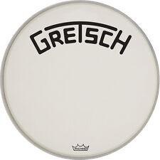 "Gretsch Bass Drum Head Coated 22"" w/ Broadkaster Logo - GRDHCW22B"