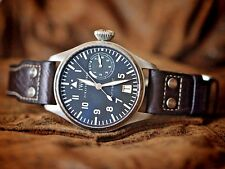 IWC watch BIG PILOT IW500201 Steel 46mm 7 days power reserve big date Box Papers